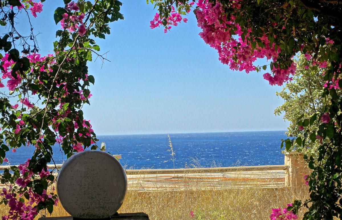 YOGA in Kreta 16.-23.7.2016 … jeder Blick geht zum weiten Meer