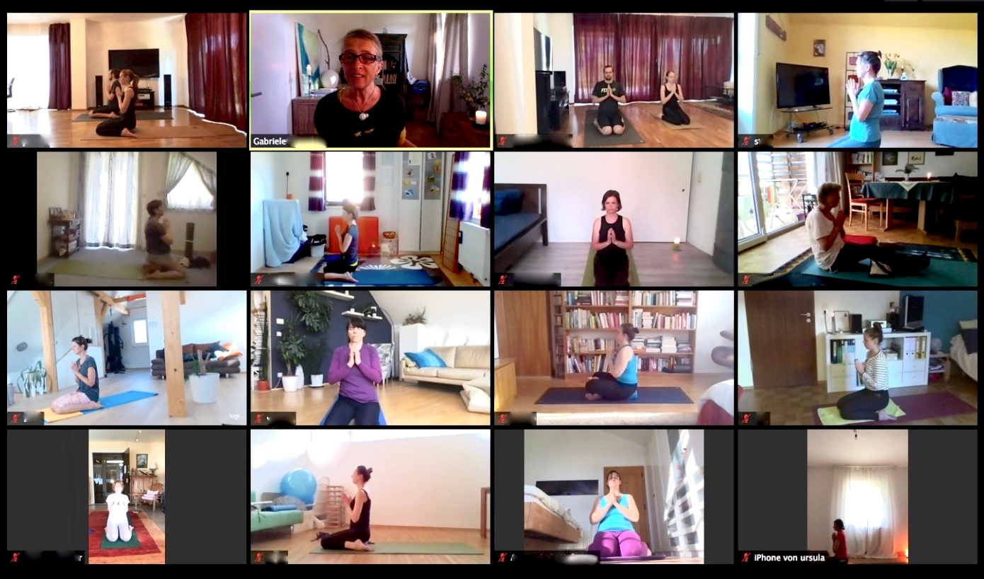 Do: YOGA I.5 im www @ Zoom Video-Konferenz